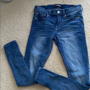 Express stretch Jeans/ legging mid rise